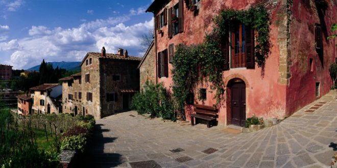 Il Borro, a village in the heart of Tuscany