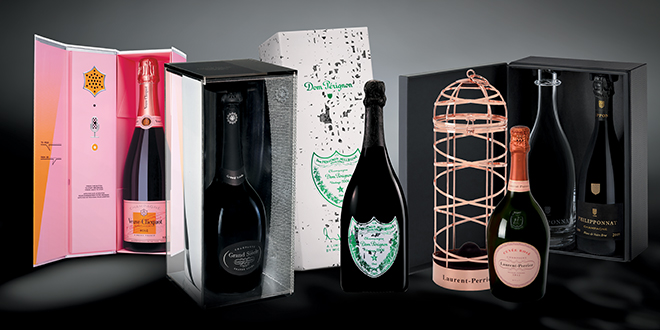 When Art and Champagne join together: splendid gift sets for the winter holidays