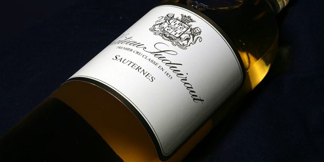 Château Suduiraut – An exceptional wine with golden-straw reflections