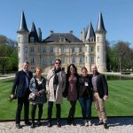 Bloggers at Chateau Pichon-Baron