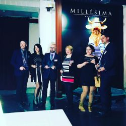 Drinks and dinner at Millesima's 200 year-old warehouse in downtown Bordeaux