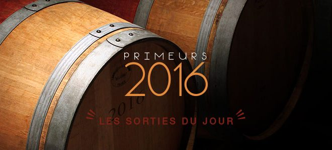 Primeurs 2016 | Release of the 13-06-2017
